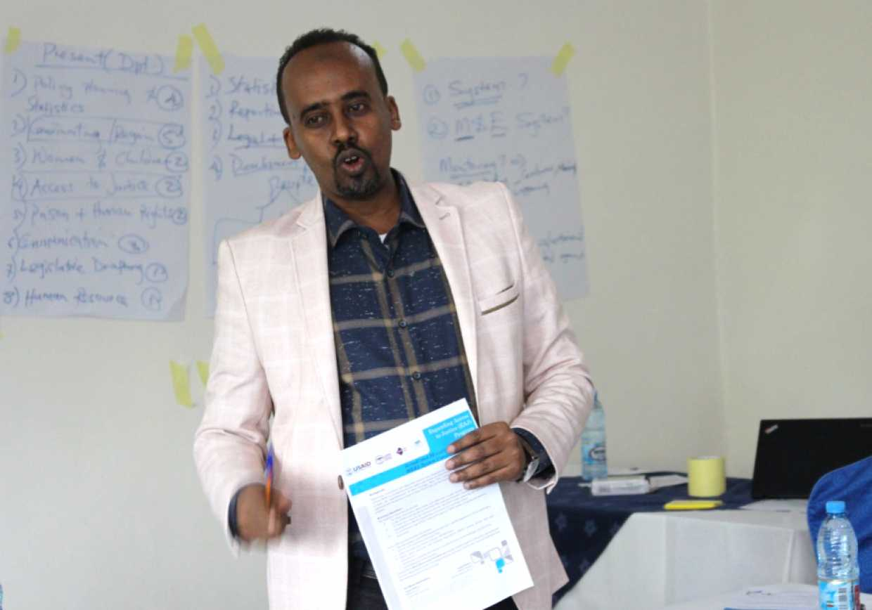 EAJ holds three-day workshop for Somaliland MOJ's Department of Policy, Planning and Statistics