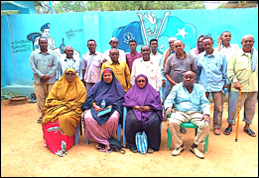 23 community members from Lower Shabelle Region of South West State of Somalia learn to access legal aid