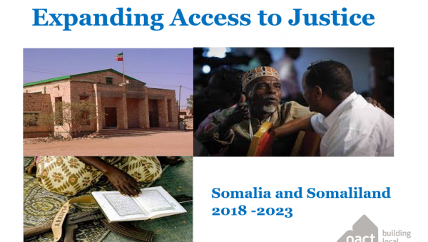 Introduction to Expanding Access to Justice
